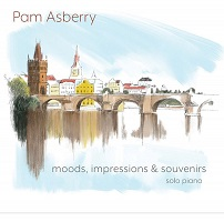 Pam Asberry - Moods, Impressions & Souvenirs [Optimistic Flamingo Music ] 2020